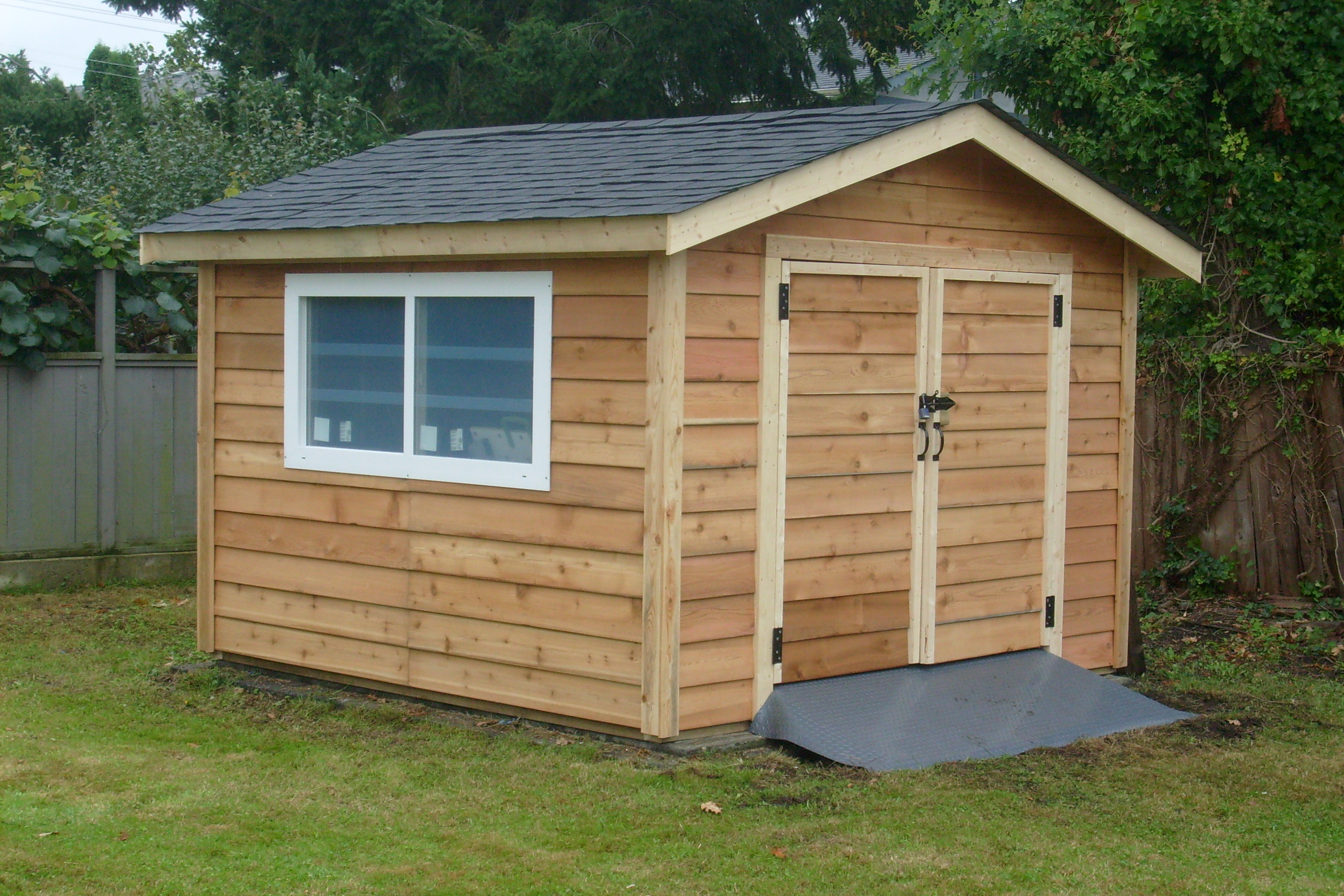 10x10 Pre-Cut Shed Kit (Custom Install) | Surrey Cedar