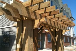 Red Cedar Pergola - Cedar for Building Materials