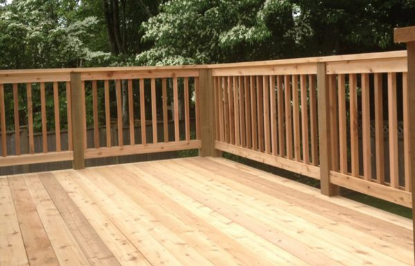 Cedar Decking Versus Composite Decking - Value, Maintenance & Beauty