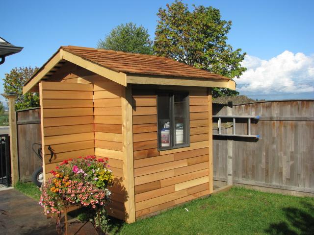 Red Cedar Shakes, Siding, Shingles & Panels - Build a Cedar Shed, House, etc